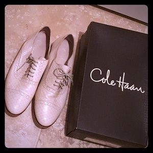 Leather Oxfords. Cole Haan